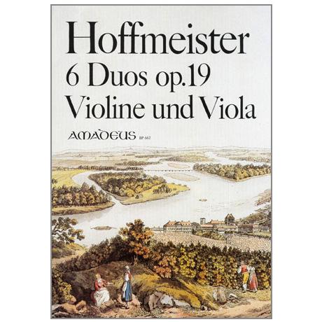 Hoffmeister, F. A.: 6 Duos Op. 19