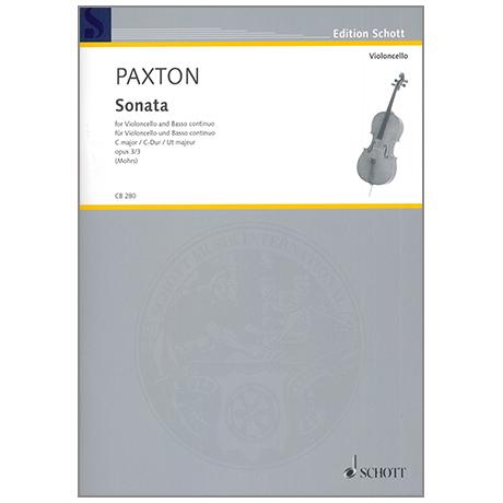Paxton, S.: Sonate C-Dur, Op. 3/3
