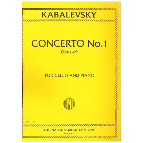 Kabalewski, D.: Violoncellokonzert Nr. 1 Op.49 g-Moll