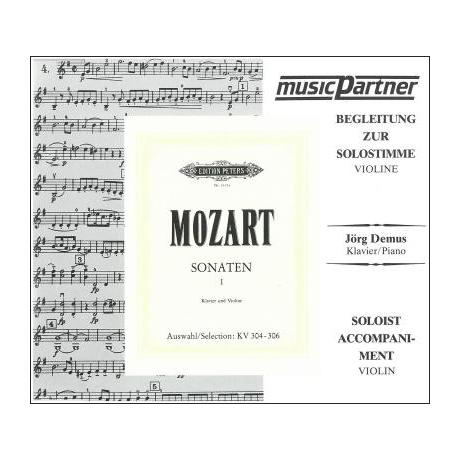 Mozart, W. A.: Sonaten Band 1 – Begleit-CD Nr. 2 KV 304-306