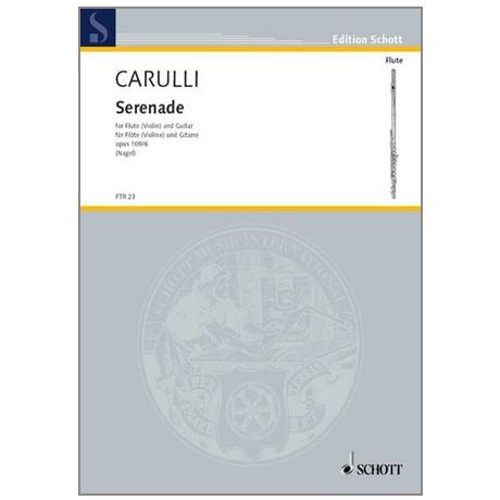 Carulli, F.: Serenade Op. 109/6