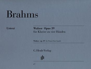 Brahms, J.: Walzer Op. 39 zu 4 Händen