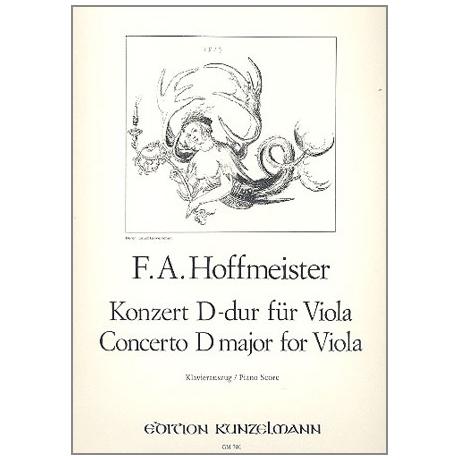 Hoffmeister, F. A.: Violakonzert D-Dur