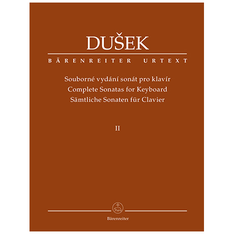 Dušek, F. X.: Complete Sonatas for Keyboard Volume 2