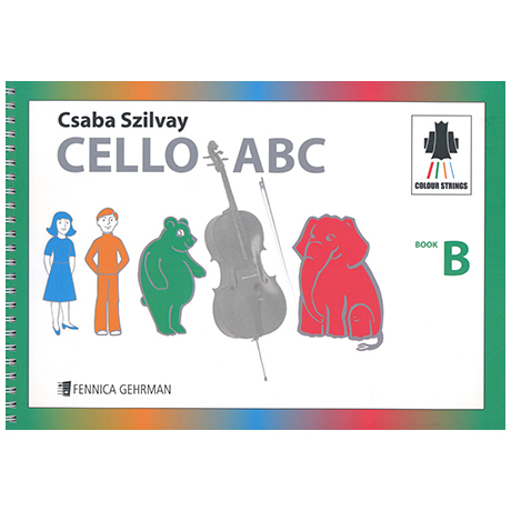 Colourstrings Cello ABC Book B