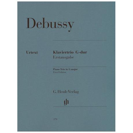 Debussy, C.: Klaviertrio G-Dur (1880)
