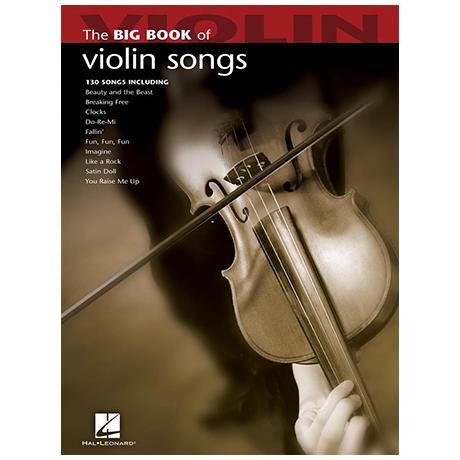 The Big Book of Violin Songs