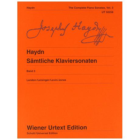 Haydn, J.: Complete Piano Sonatas Vol. 3