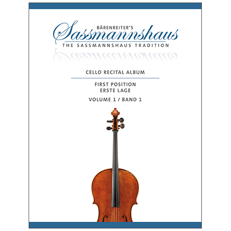 Sassmannshaus, Chr.: Cello Recital Album vol. 1