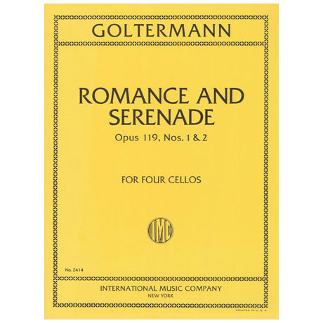 Goltermann, G.: Romance and Serenade Op.119 Nr.1&2