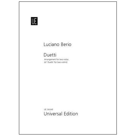 Berio, L.: Duetti (1979-83)