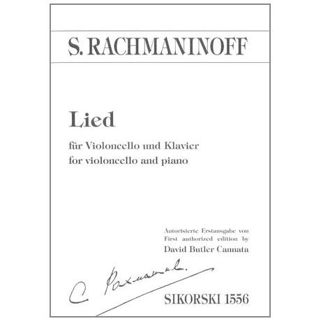 Rachmaninoff, S.: Lied