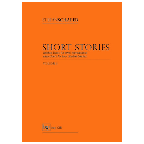 Schäfer, S.: Short Stories Vol. 1
