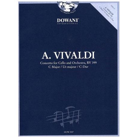 Vivaldi, A.: Konzert C-Dur RV 399 (+CD)