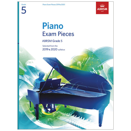 ABRSM: Piano Exam Pieces Grade 5 (2019-2020)