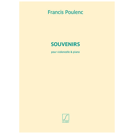Poulenc, F.: Souvenirs