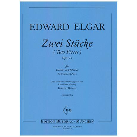 Elgar, E.: 2 Stücke Op. 13