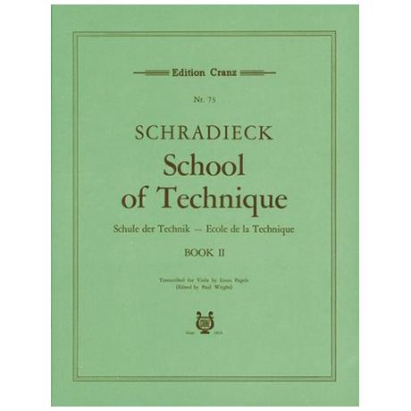 Schradieck, H.: Schule der Violatechnik Band 2
