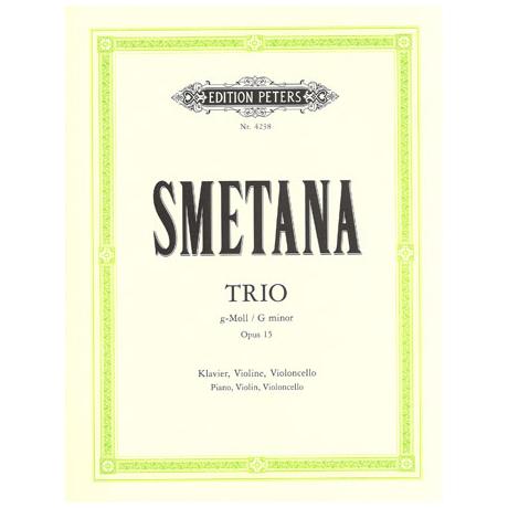 Smetana, B.: Klaviertrio Op. 15 g-Moll