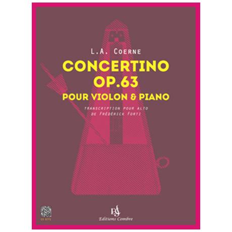 Coerne, L. A.: Concertino Op. 63