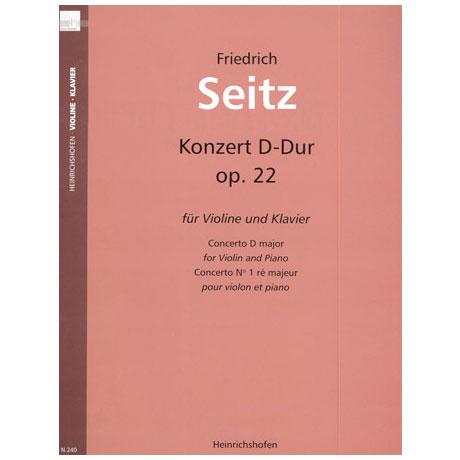 Seitz, F.: Schülerkonzert Nr. 2 Op. 22 D-Dur