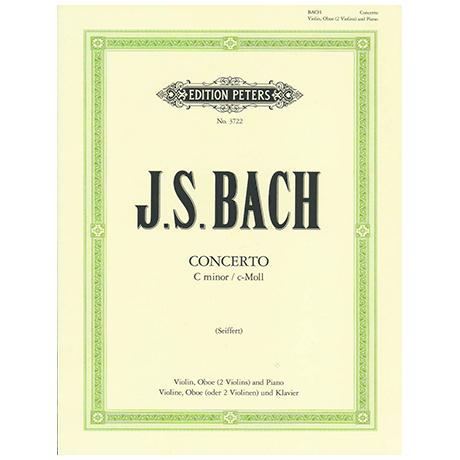 Bach, J. S.: Doppelkonzert BWV 1060 c-Moll