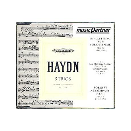 Haydn, J.: Klaviertrios Hob XV:15-17 »Flötentrios« Begleit-CD
