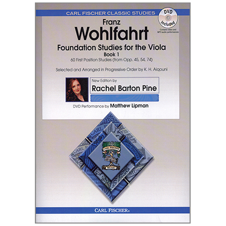 Wohlfahrt, F.: Foundation Studies For Viola Book 1 (+DVD)