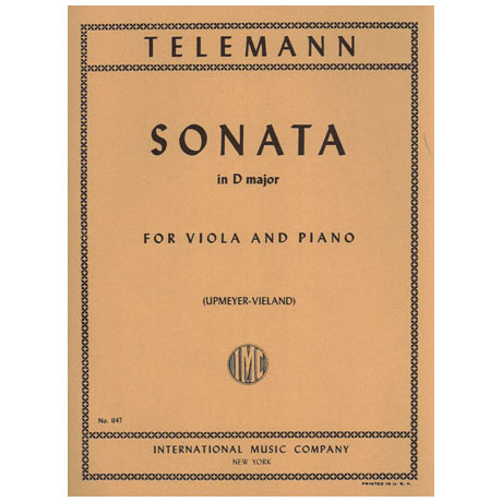 Telemann, G. Ph.: Sonate in D-Dur