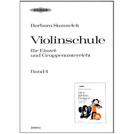 Stanzeleit, B.: Der kleine Geiger Band 4