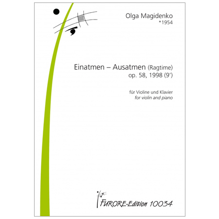 Magidenko, O.: Einatmen – Ausatmen (Ragtime) Op. 58 (1998)