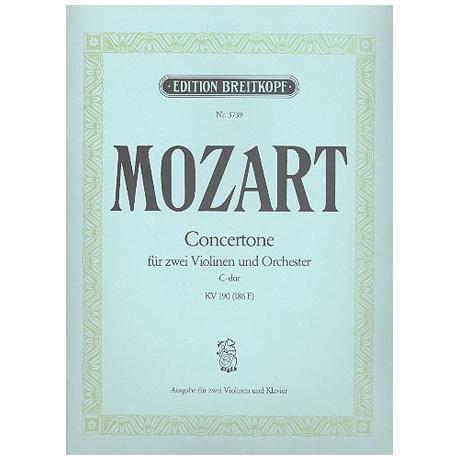 Mozart, W. A.: Concertone KV 190 C-Dur