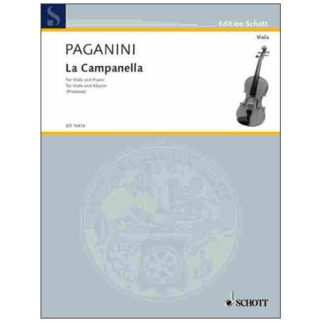 Paganini, N.: La Campanella Op. 7 (Primrose)