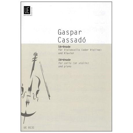 Cassadó, G.: Serenade