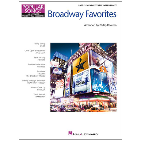 Broadway Favorites for Piano