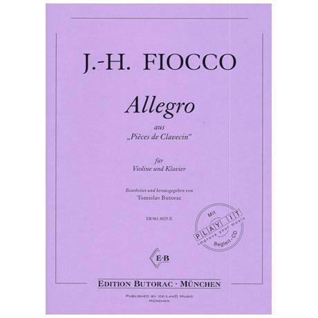 Fiocco, J.-H.: Allegro (+CD)