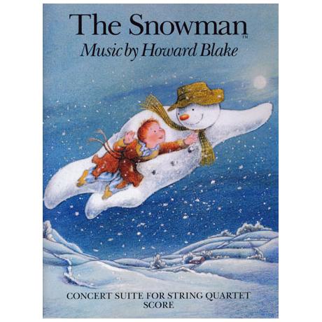 Blake, H.: The Snowman – Partitur