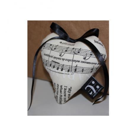 Lavender Sachet Musical Heart