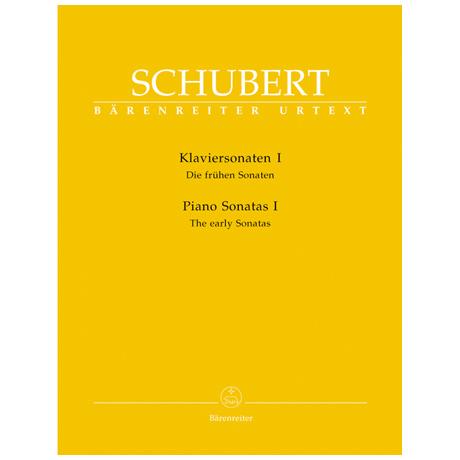 Schubert, F.: Klaviersonaten I – Die frühen Sonaten