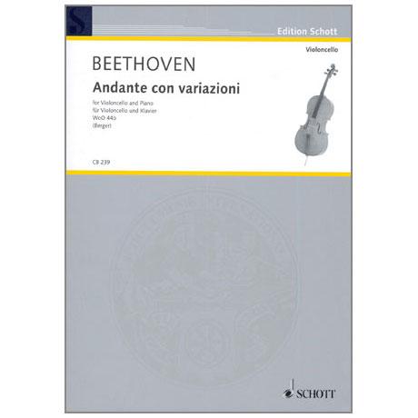 Beethoven, L. v.: Andante con variazioni WoO44b
