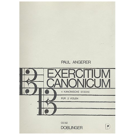 Angerer, P.: Exercitium canonicum