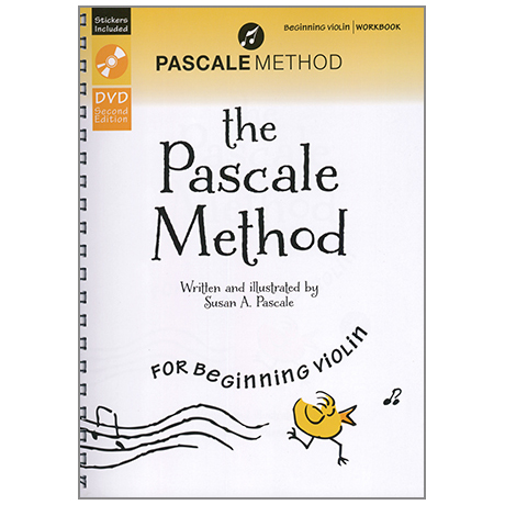 Pascale, S.: The Pascale Method for beginning Violin Vol.2 (+DVD)