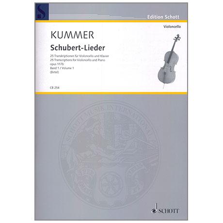 Schubert, F./Kummer, F. A.: Lieder Op. 117b Band 1