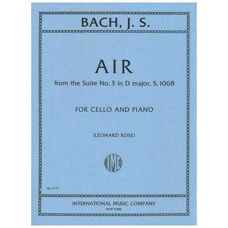 Bach, J. S.: Air aus Suite Nr. 3 D-Dur