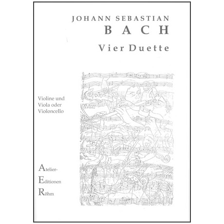 Bach, J.S.: Duo für Streicher: Klavierübung III. Teil (4 Duette)