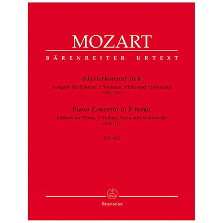 Mozart, W. A.: Klavierkonzert Nr. 11 KV 413 F-Dur