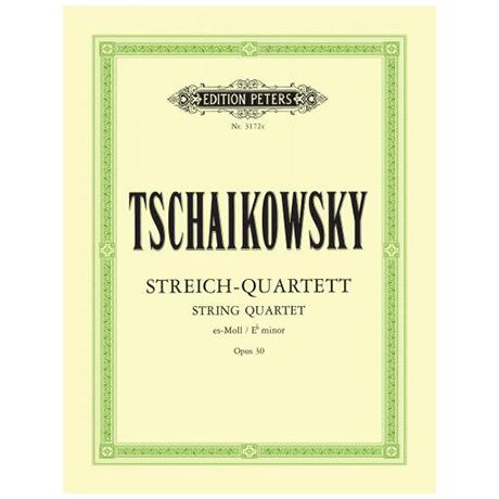 Tschaikowsky, P.I.: Streichquartett Nr. 3 es-moll, op. 30