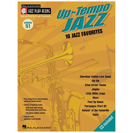 Up-Tempo Jazz (+CD)
