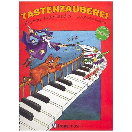 Drabon, A.: Tastenzauberei Band 3 (+CD)