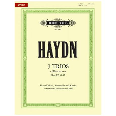Haydn, J.: Klaviertrios Hob XV:15-17 »Flötentrios«